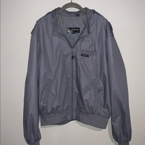 Members Only Jackets & Coats - Grey members only bomber